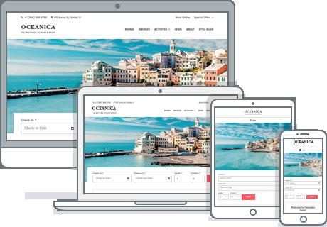responsive hotel booking wordpress theme