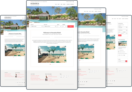 wide and boxed layouts wordpress theme