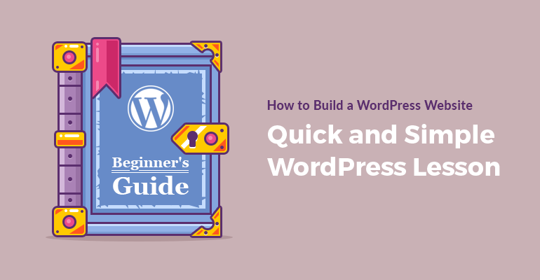 how to build wordpress site for beginners