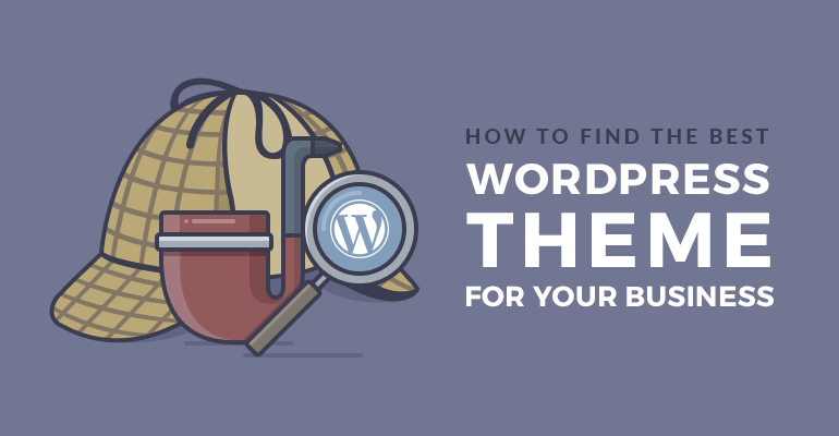 how to choose wordpress theme