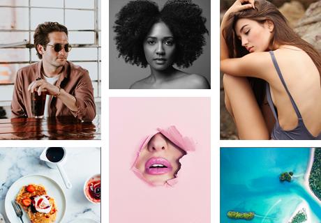 masonry layouts photographer portfolio wordpress theme