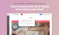 How to Build a WordPress Website with Free Sela Theme and MotoPress Visual Page Builder