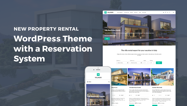 how to build vacation rental wordpress site