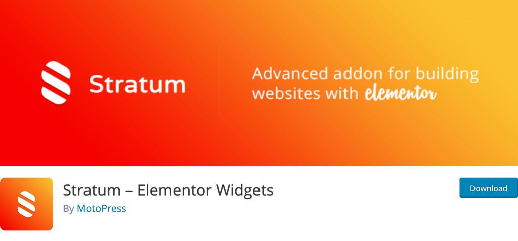 Stratum Elementor Widgets