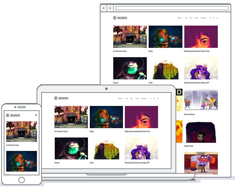 wordpress designer portfolio theme