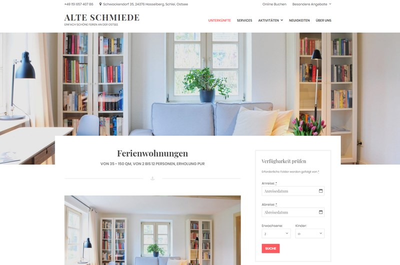 alte schmiede guesthouse in germany