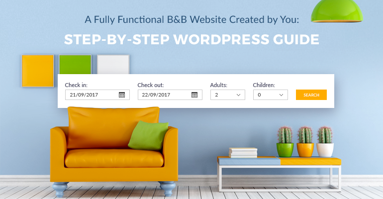 B&B wordpress website