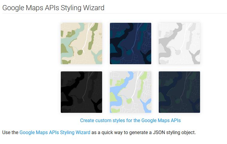 wordpress google map
