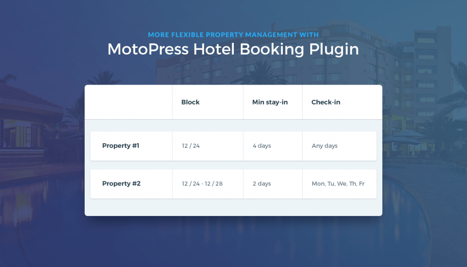 wordpress booking rules wordpress booking plugin