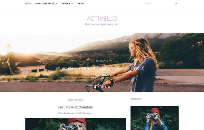 activello wp theme