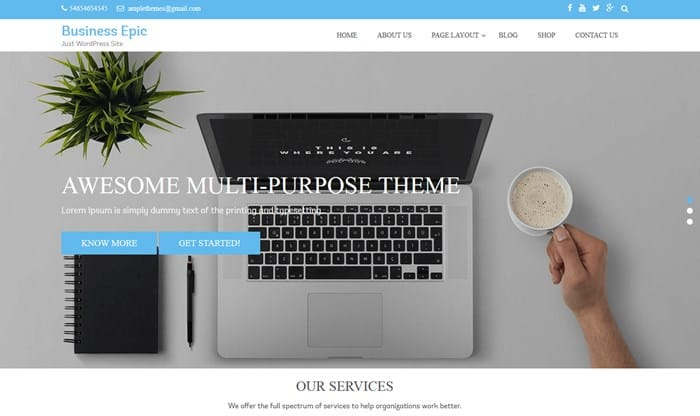 business epic wp theme