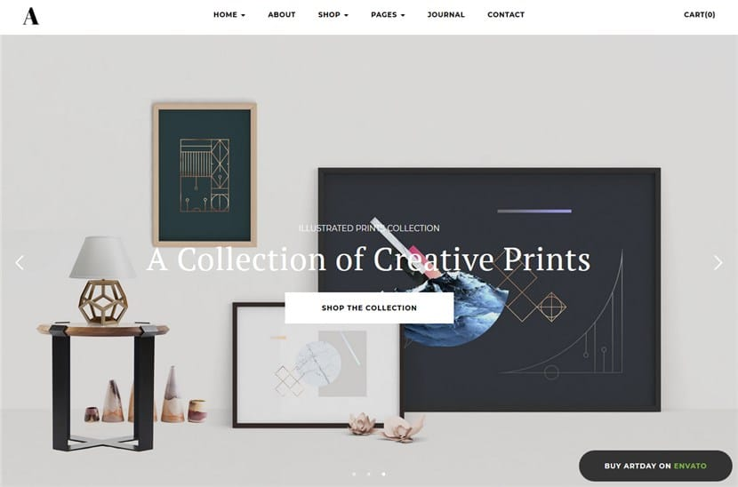Artday WordPress theme