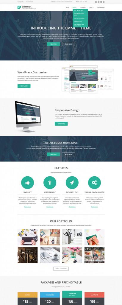 Emmet - Multipurpose WordPress Theme - MotoPress