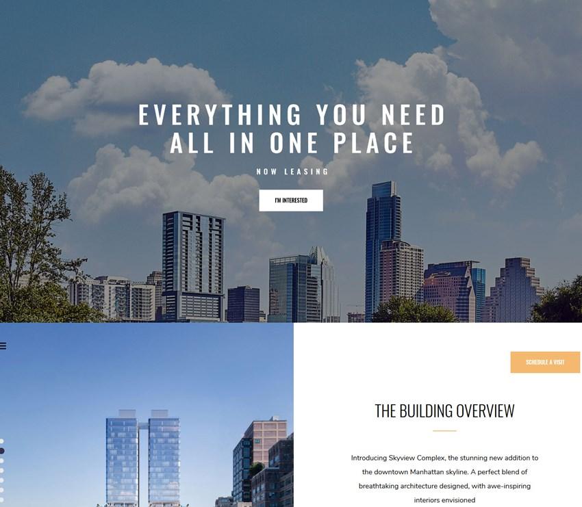Skyview Complex vacation rental WordPress themes