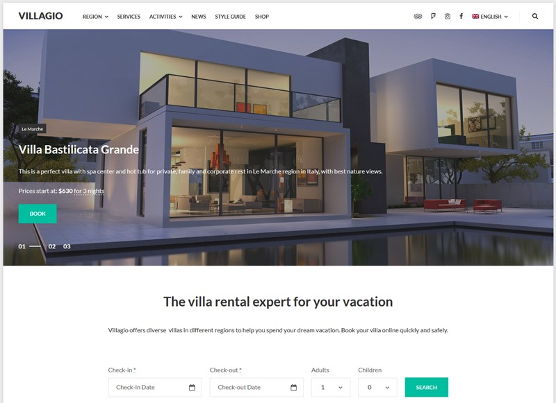 15+ Best Vacation Rental WordPress Themes - MotoPress