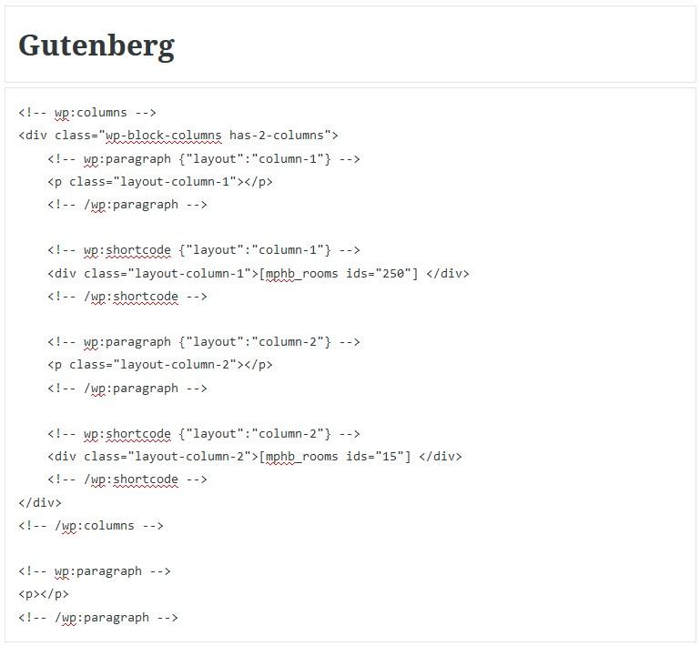 edit gutenberg