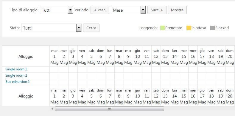 language change in calendar