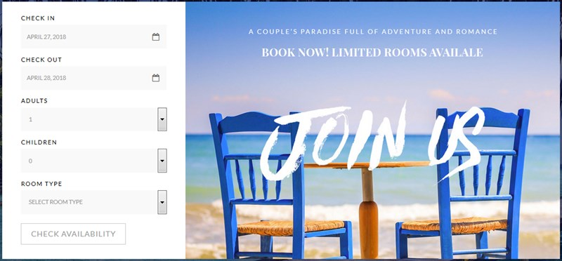 free wordpress booking hotel booking