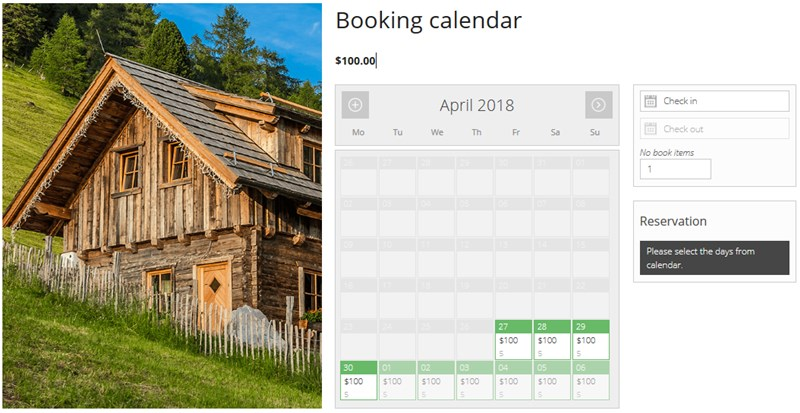free wordpress booking pluign