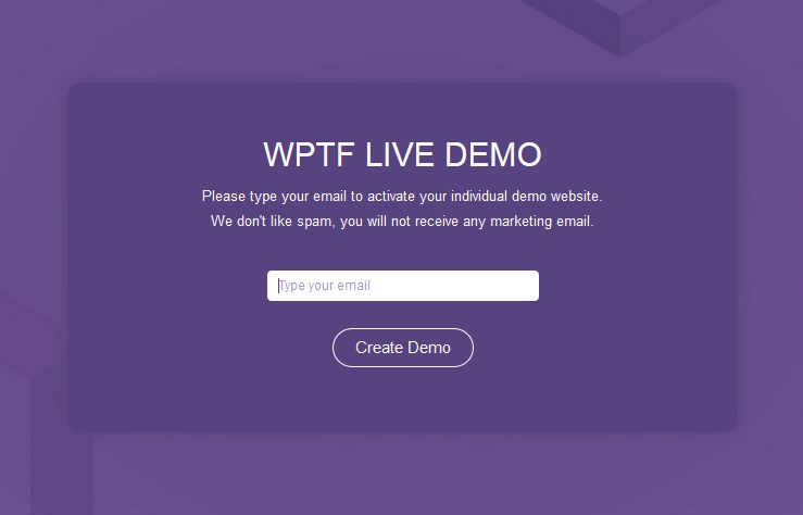 WPTF wordpress framework