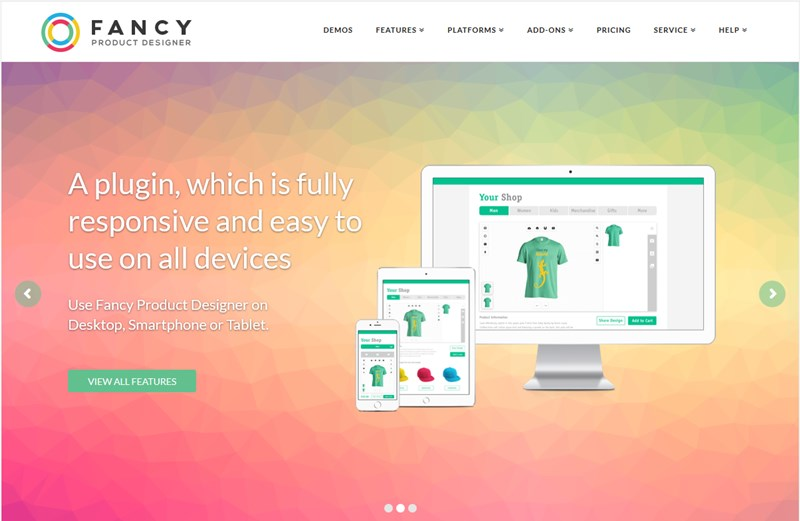 fancy product designer for wordpress