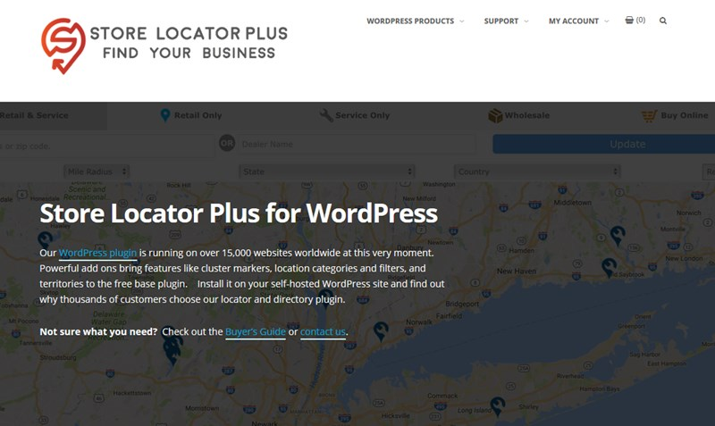 store location wp plugin