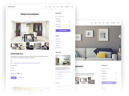 Aquentro - Single Property WordPress Theme - MotoPress