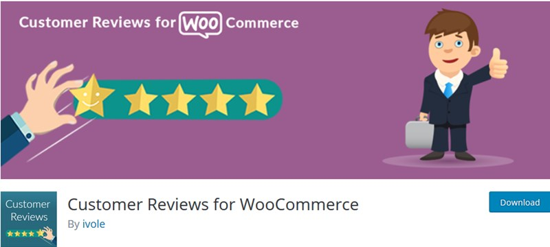 customer revierw for woocommerce