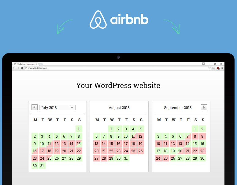 WordPress airbnb plugin