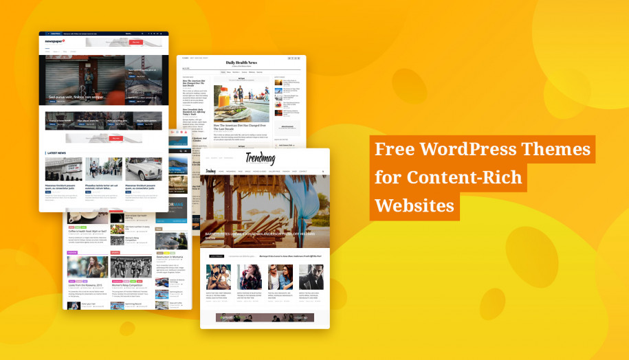 Free WordPress Magazine Themes for News & Blog Websites