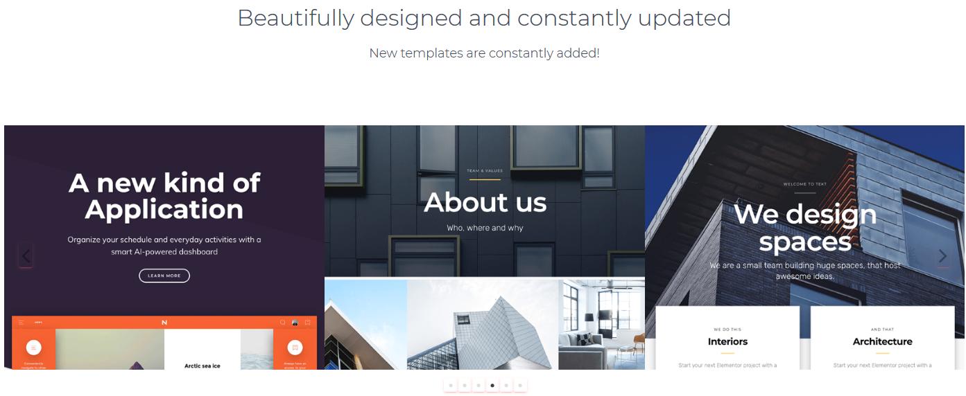 25+ Best Elementor Templates for Your WordPress Website