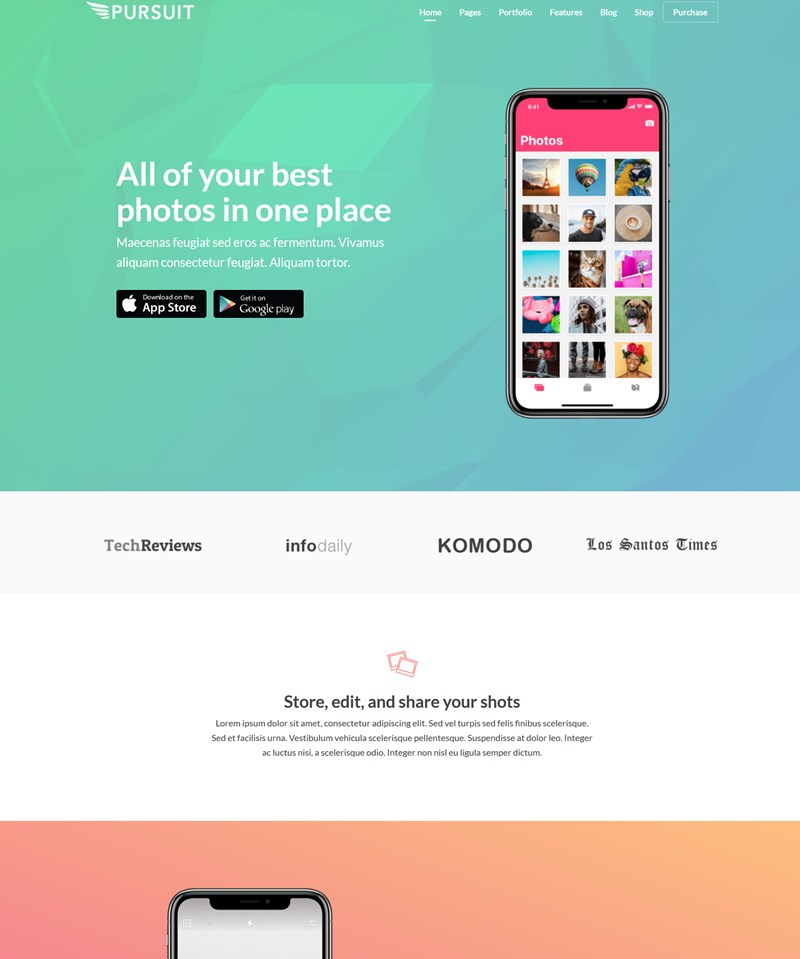 Pursuit WP theme