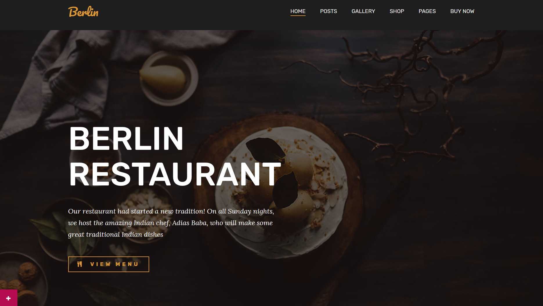 berlin restaurant wp theme