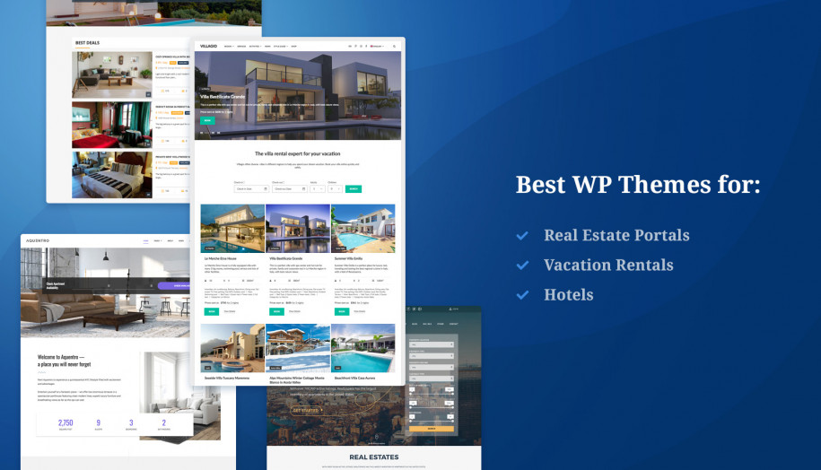 20+ Best Property Management and Real Estate WordPress Themes