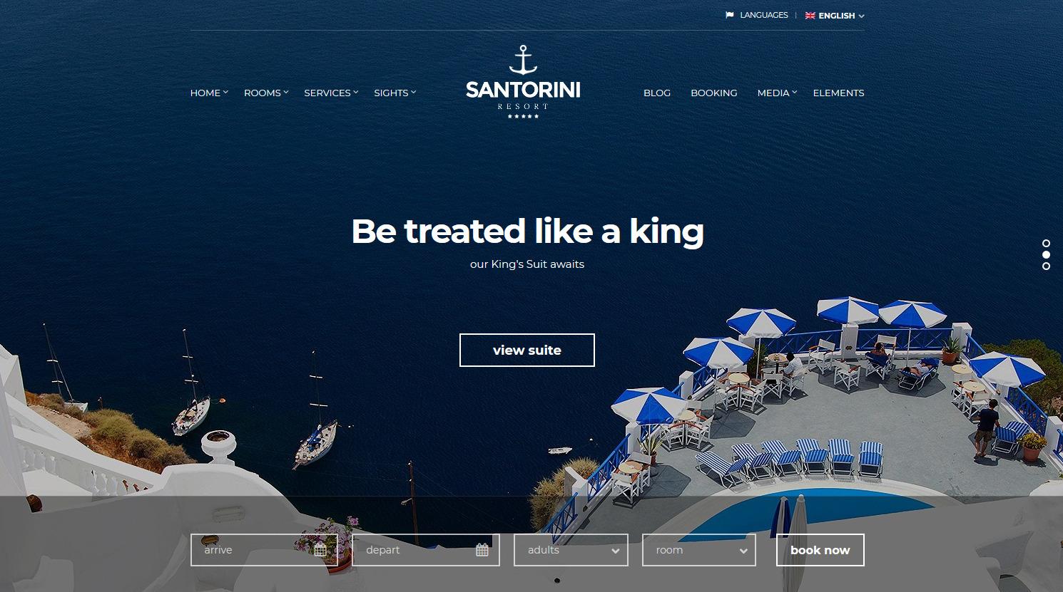 santorinin resort