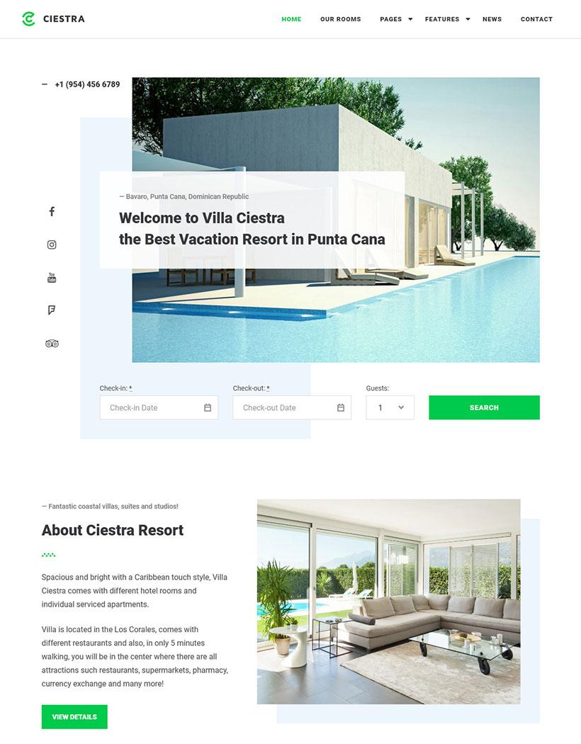 15+ Best Vacation Rental WordPress Themes - MotoPress