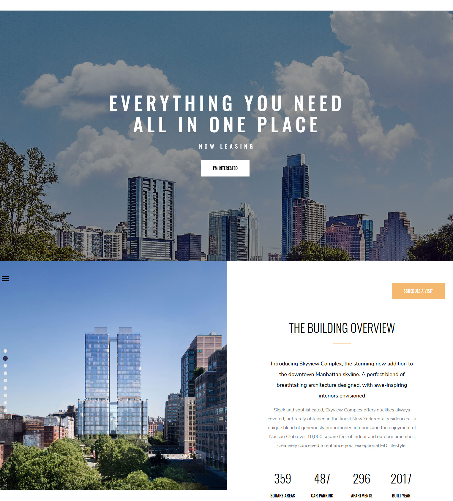 Skyview Complex Responsive WordPress Theme