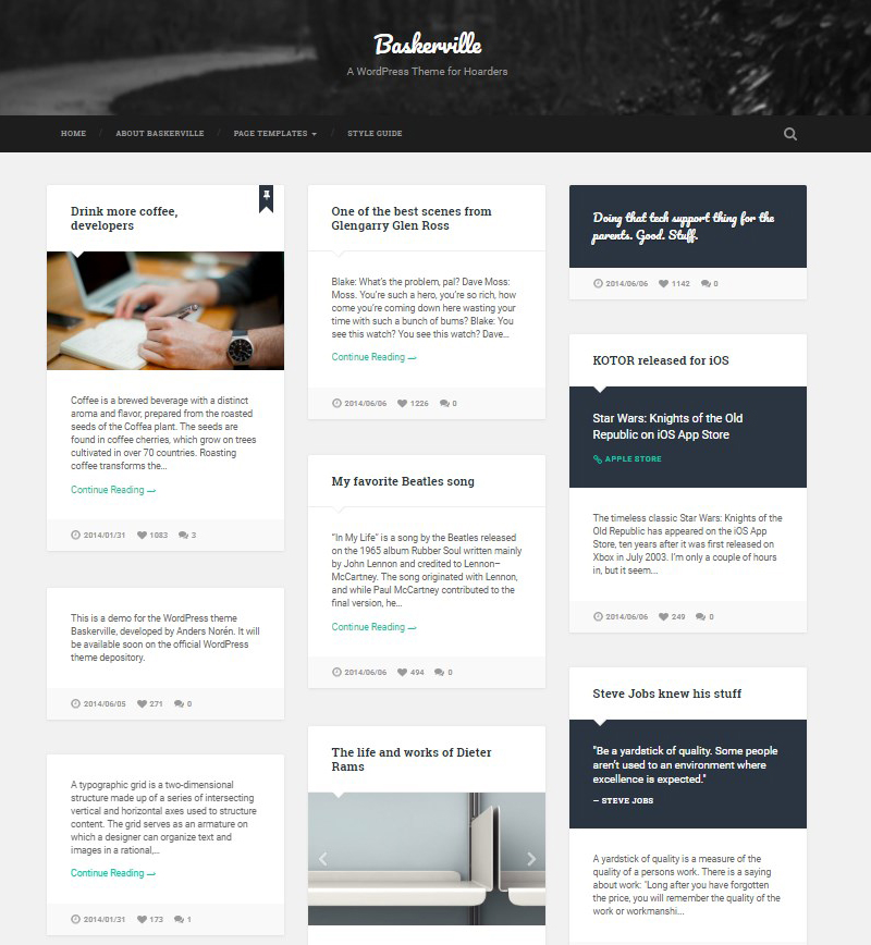 Baskerville_WordPress_theme