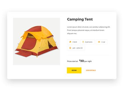 Campterra - Camping WordPress Theme - MotoPress