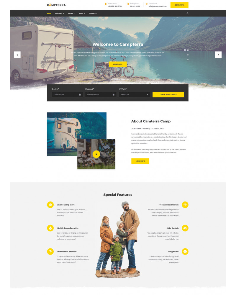 campterra_camping_WordPress_theme