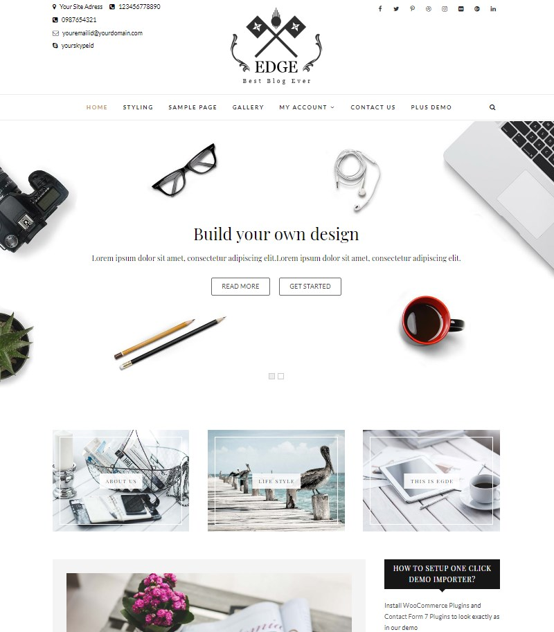 Edge_WordPress_theme