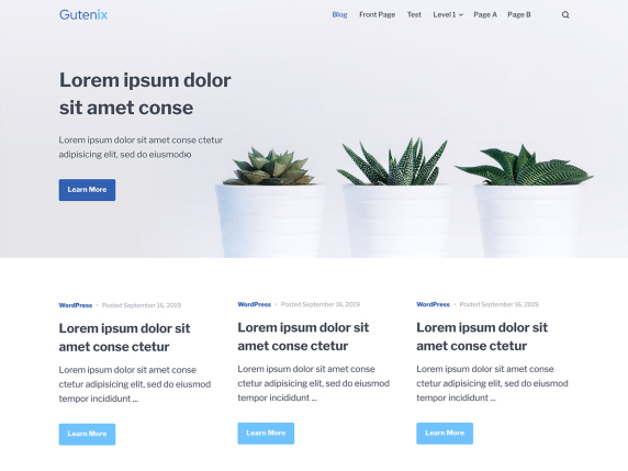 gutenix-wordpress-theme