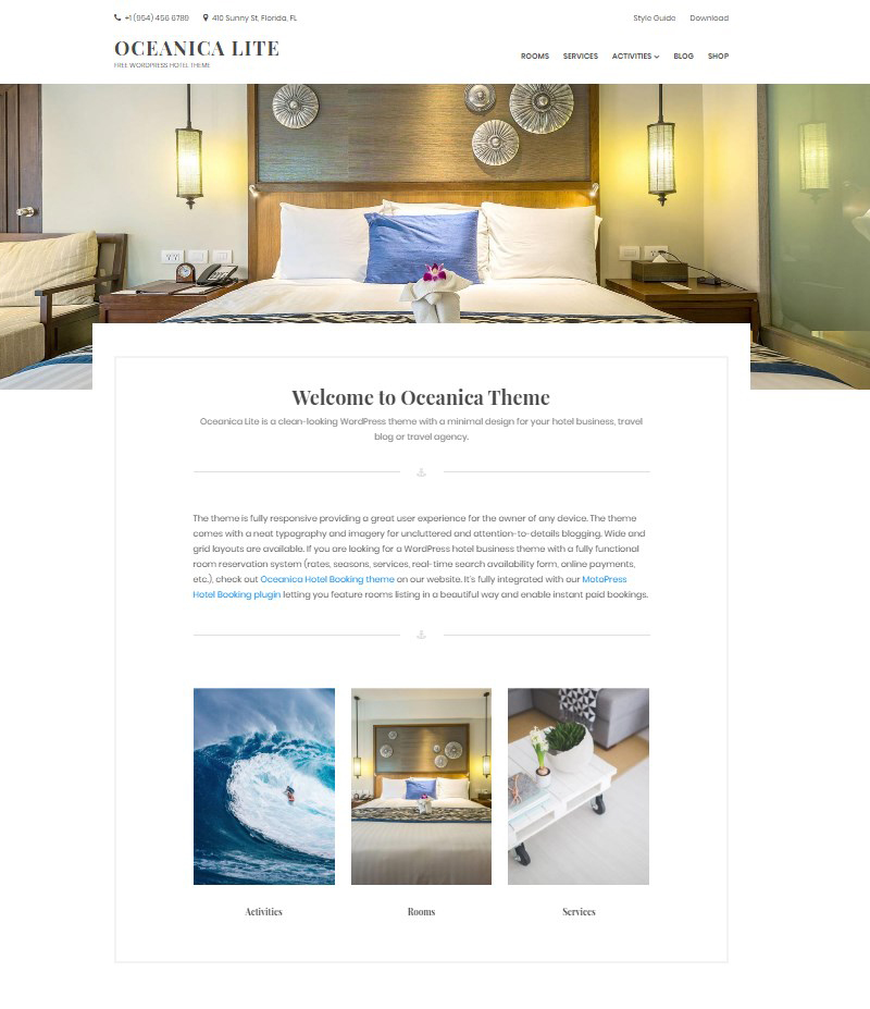 Oceanica_Lite_WordPress_theme