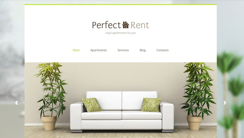 perfect rent wp theme