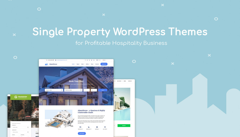 single property wp themes