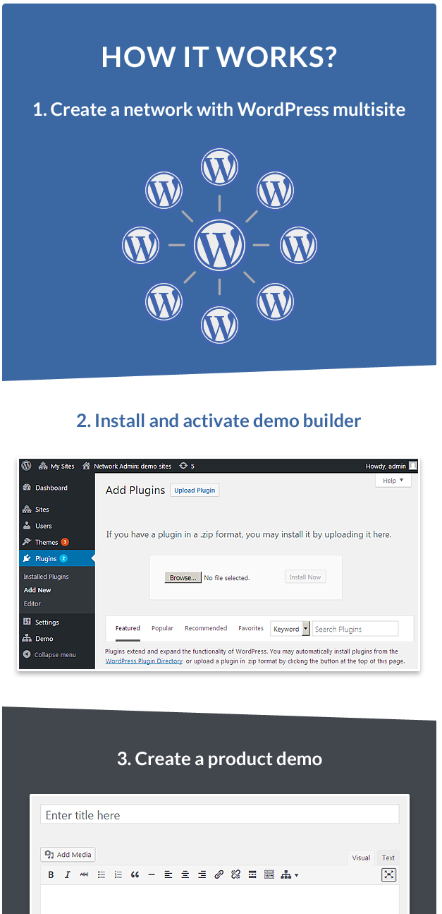 wordpress demo creator plugin
