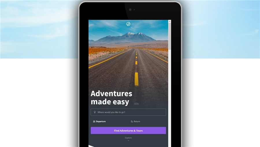 amp native travel template