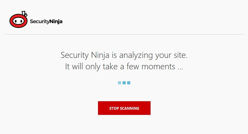 loading screen security ninja