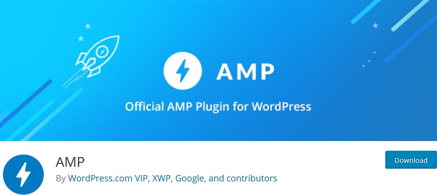 amp official wp plugin
