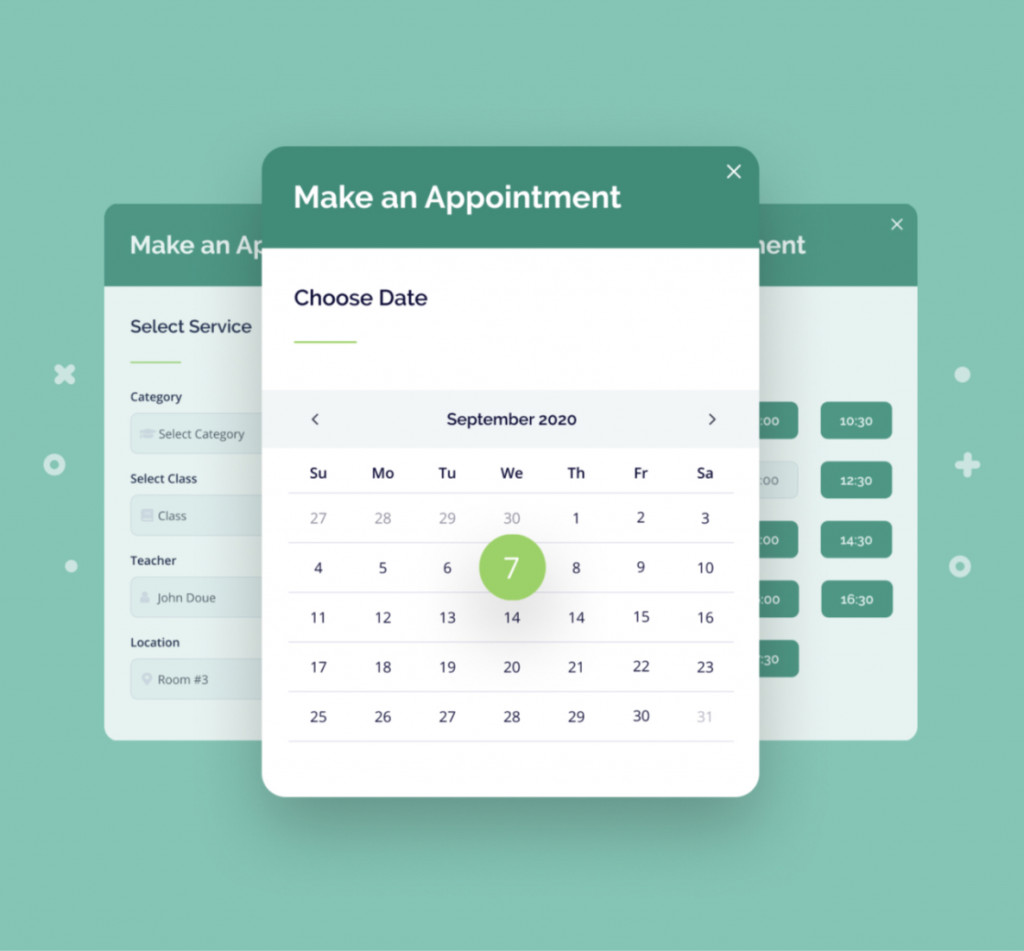 Appointment Booking plugin
